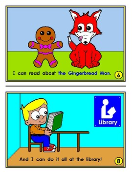 Mini Reader: At the Library (Fairy Tales)