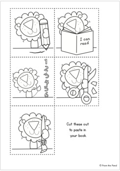 Mini Reader Book - Little Lion