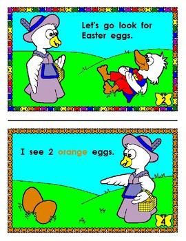 Mini Reader: Easter Egg Hunt