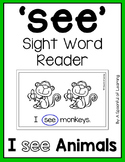 Sight Word Mini Reader- FREEBIE!