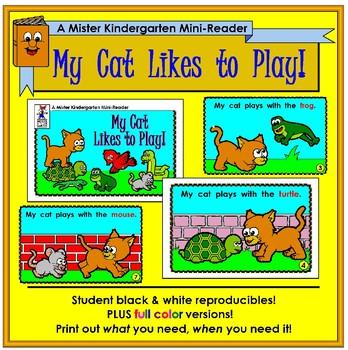 Mini Reader: My Cat Likes to Play