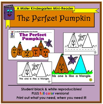 Mini Reader: The Perfect Pumpkin (Halloween)