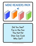 Mini Readers Collection 1 - Five super easy 5-page stories!