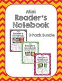 Mini Reader's Notebook Bundle-All 3 Levels (Beginning, Pro