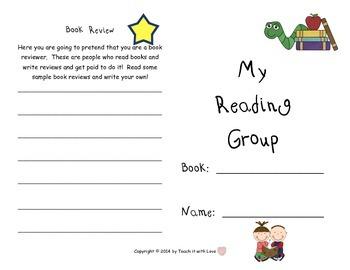 Mini Reading Booklet