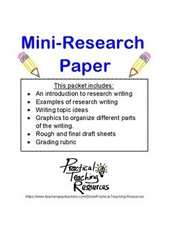Mini-Research Paper