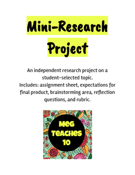Mini-Research Project