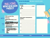 Mini Research Project: Argumentative Essay (Bullying)