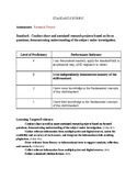 Mini Research Project Rubric