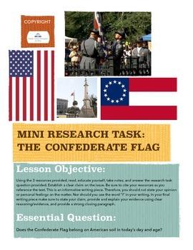 Mini Research Project: The Confederate Flag