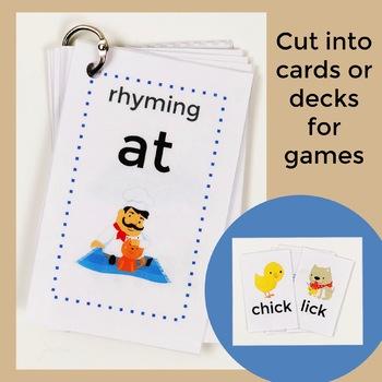 Mini Rhyming Books or Cards