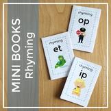 Mini Books - Rhyming