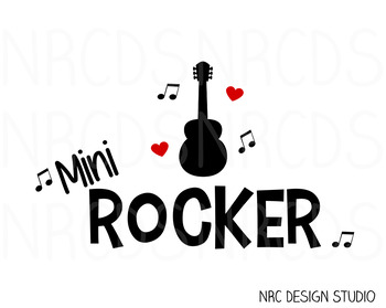 Mini Rocker SVG Cutting File - Commercial Use SVG, DXF, EPS, png