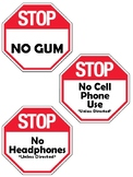 Mini STOP Signs