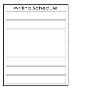 Mini Schedule Pack (for special education or early childhood)