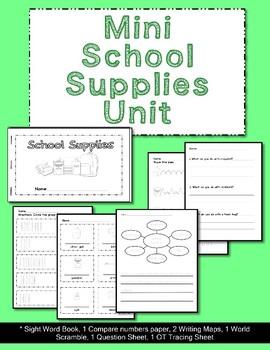 Mini School Supply Unit