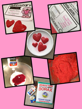 Mini Science Bundle- Grow a Polar Bear & Sweetheart Slime