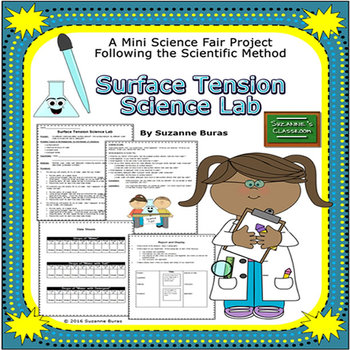 Mini Science Fair Project: Surface Tension Lab