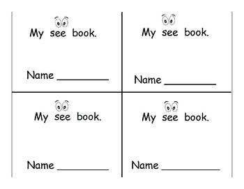 "Mini ""See"" Books"
