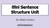 Mini Sentence Structure Unit