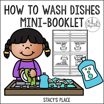 Mini-Sequencing Booklet: How to Wash Dishes