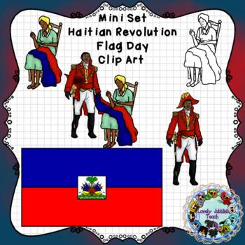 Mini Set: Haitian Flag Day Clip Art