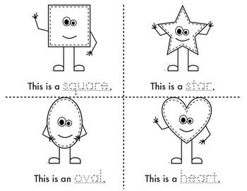 Geometry: My Shape Book for beginner readers