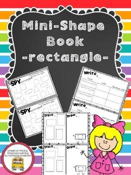 Mini Shape Book: Rectangle
