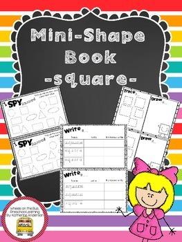 Mini Shape Book: Square