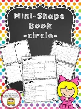 Mini Shape Book: circle