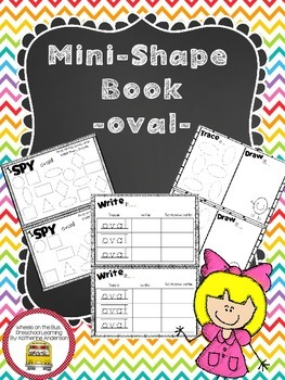 Mini Shape Book: oval