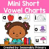 Mini Short Vowel Charts