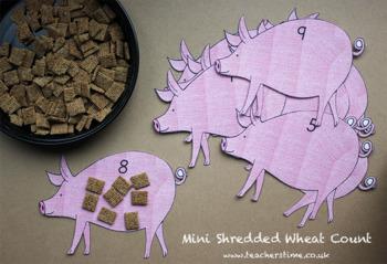 Mini Shredded Wheat Count