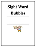 Mini Sight Word Bubbles