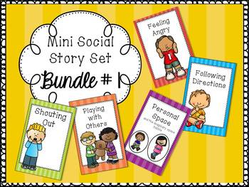 Mini Social Story Set *BUNDLE 1*