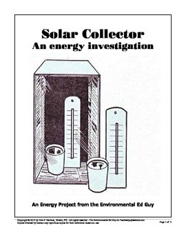 Mini Solar Collector - An Energy activity