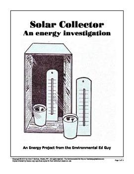 Mini Solar Collector - An Energy activity