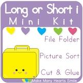 Mini Sorting Kit: Long i MMHS46