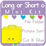 Mini Sorting Kit: Long o MMHS46