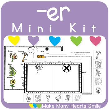 Mini Sorting Kit: -er  MMHS44