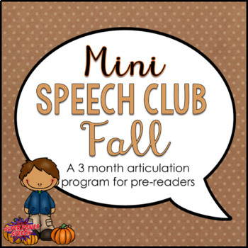 Mini Speech Club Fall
