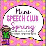 Mini Speech Club Spring