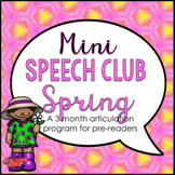 Mini Speech Club Spring