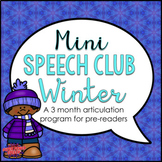 Mini Speech Club Winter