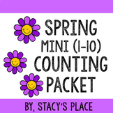 English Spring Counting Packet (1-10)