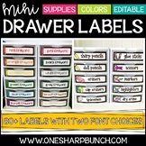 Mini Sterilite Drawer Labels