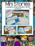 Mini Stories (A Reading Comprehension Center) Digital Activity Distance Learning