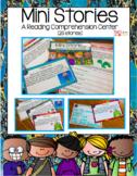Mini Stories (A Reading Comprehension Center) Digital Acti