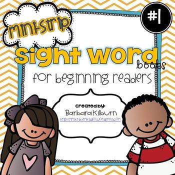 Mini-Strip Sight Word Books