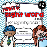 Mini-Strip Sight Word Books Version 2
